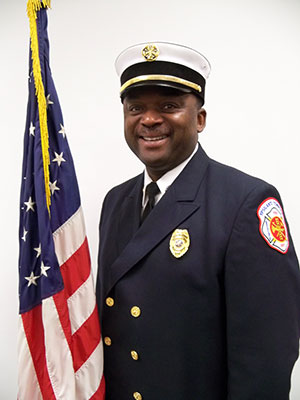 Fire Chief Copeland