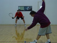 Raquetball Players Photo