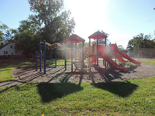 Burns Park Play Structure Photo