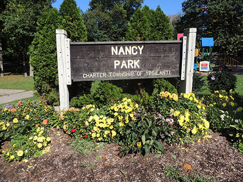 Nancy Park Sign Photo